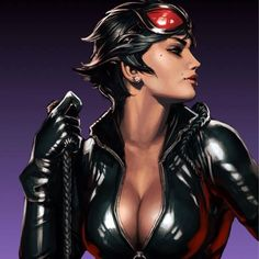 And fighting catwoman elastigirl naked