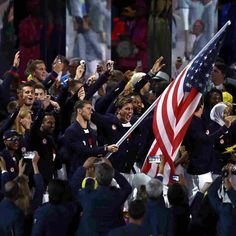 Michael Phelps leads U.S. athletes in the opening ceremony of Rio's Olympics. In terms of age, height, and experience, America's Olympians vary widely — particularly by sport.