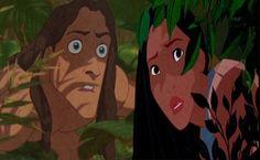 tarzan and Pocahontas