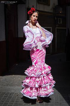 Falda y Camisa Flamenca - Zl14-26.  Talla 40. 295€