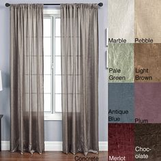 these luxurious rod pocket panels are made from soft faux silk and come in several different