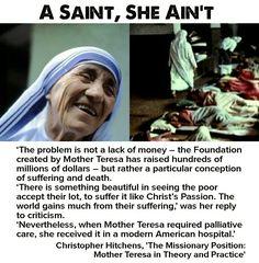 Mother teresa suffering