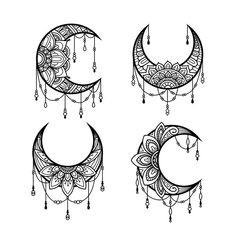 Mandala Doodle, Mandala Art Lesson, Mandala Drawing, Kritzelei Tattoo, Body Art Tattoos, Tattoo Drawings, Mandala Hand Tattoos, Mandala Tattoo Design, Moon Tattoo Designs