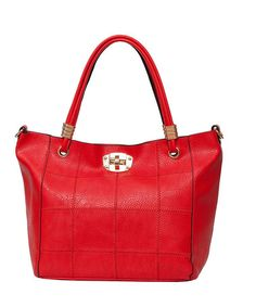 The Perfect Travel Tote! Red Jet-Setter Tote by Elise Hope on @zulily! #zulilyfinds #elisehope
