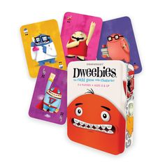 Meet the Dweebies! These uniquely colorful characters are out to capture your heart, but you must capture them first! Round up Dweebies by matching cards on both ends of any row. This may seem simple
