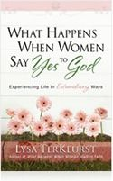 My next book to read...when I heard Lysa speak her message struck me...What would happen if I said Yes to God before I knew what he was asking?