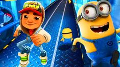 WHO IS THE BEST? SUBWAY SURFERS vs Minion Rush Despicable Me ? Minion Rush, My Minion, Minion Costumes, Cool Costumes, Despicable Me Funny, Runner Games, Funny Songs, Subway Surfers, Surfs Up