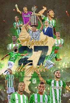 ATLETICO NACIONAL @nacionaloficial CAMPEÓN COPA LIBERTADORES 2016 vía @trujiG13 - ⚽ ¡GRACIAS NACIONAL... TENEMOS LA COOOPA! #QueremosLaCopa #SueñoContinental #SueñoCumplido Football 2018, Alex G, Cristiano Ronaldo 7, Russia 2018, Antoine Griezmann, Dragon Ball Gt, Neymar Jr, Lionel Messi, Chicago Bulls
