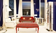 Modern Plaid interiors Lea Bassani Design Houzz.com