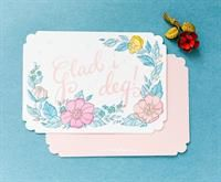 """Diecut """"Love you"""" card inspired by my mom Else who shared my passion for vintage greeting cards. Vintage Greeting Cards, My Mom, Your Cards, Passion, Inspiration, Inspired, Vintage Cards, Biblical Inspiration, Inspirational"""