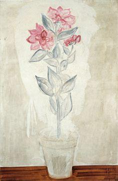 盆花 92×59 布面油画 1930-1940年代