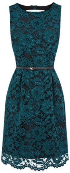 Stunning Blue Lace Dress