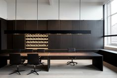 Office H interior by Vincent van Duysen.