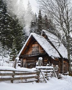 Just Argentina, Winter Cabin, Cozy Winter, Tiny House Cabin, Earth From Space, Life Choices, Winter Beauty, Cabins In The Woods, Winter Scenes