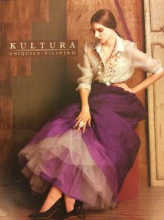 Hand painted barong with ball gown skirt from Kultura Fashion 101, Asian Fashion, Fashion Outfits, Beautiful Gowns, Beautiful Outfits, Modern Filipiniana Gown, Filipino Fashion, Gala Dresses, Reception Dresses