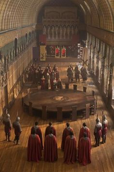Knights of the Round Table, from 'Merlin' 5.8: 'The Hollow Queen' BBC One