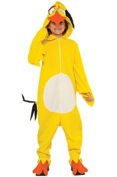 Chuck Child Costume #angrybirds #Halloween #costumes
