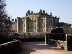Perched atop a cliff overlooking the Firth of Clyde, 18th century CulzeanCastle contains a top-floor apartment dedicated to President Eisenhower, where for a price, guests can stay the night inside the castle walls.