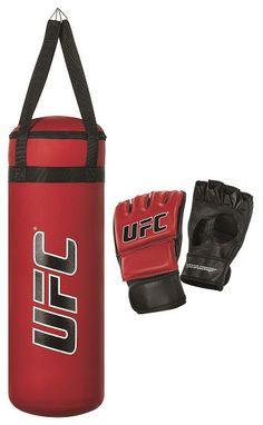 UFC Youth MMA Training Bag Set Punching Bag for Kids 144200YP