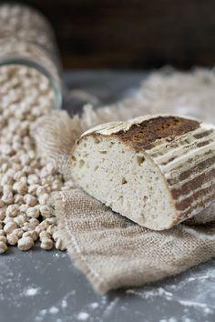 Pan de Garbanzos. Receta