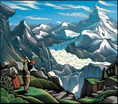 ARTWORK #01 by Chris Gall, via Behance