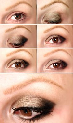 """Check out this Autumn eye tutorial using the Urban Decay Naked Palette 2. Repin if you want a $ 250 Sephora Gift Card to be this week's prize in the """"Fall Over the Moon"""" Sweepstakes. For complete details and to enter visit www.facebook.com/overthemoonmilks/app_420599617999820."""