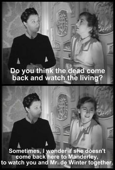 Rebecca: Joan Fontaine and Judith Anderson