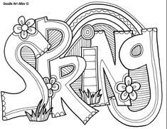 Spring Coloring Sheets Printable Inspirational Spring Coloring Pages Doodle Art Alley – Viati Coloring Spring Coloring Pages, Easter Coloring Pages, Coloring Pages To Print, Coloring Pages For Kids, Coloring Books, Kids Coloring, Free Online Coloring, Free Coloring Sheets, Doodle Coloring