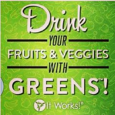 Drink your greens! Itworks detox drink comes in berry or orange! Super good in smoothies, juice or just water! Call or text to get yours today! 760-522-1569