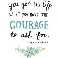 Courage! Source: Carma Connect
