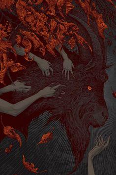 Arte Horror, Gothic Horror, Horror Art, Dark Fantasy Art, Dark Art, Black Phillip, Satanic Art, Esoteric Art, Witch Aesthetic