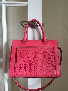 Kate Spade New York Perri Lane Romy Peony Pink WKRU3192 $355 #katespade #Satchel