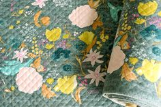 Japanese Fabric Nani Iro Fuccra : rakuen AW quilted brushed cotton - C - 50cm