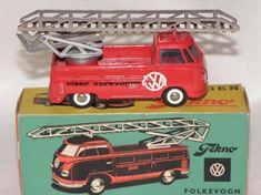 3 x caravane VW Bus Jouet Kids Classic bus échelle moulé modèle de voiture garçons hippy