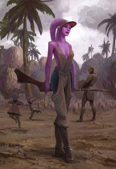 Concepts for Suu Lawquane from The Clone Wars season 2 episode The Deserter. Description from tumblr.com. I searched for this on bing.com/images