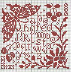 Free graph on gallery ru. Cross Stitch Pillow, Cross Stitch Borders, Crochet Borders, Cross Stitch Samplers, Cross Stitch Charts, Cross Stitch Flowers, Cross Stitch Designs, Cross Stitching, Cross Stitch Embroidery