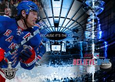 Brad Richards - New York Rangers - Because It's The Cup