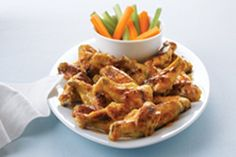 ✔Chicken Wings - Behold, the king of chicken wings. Our three-ingredient sauce couldn't be easier: Sesame-ginger dressing, sweet marmalade and a sprinkle of garlic powder.