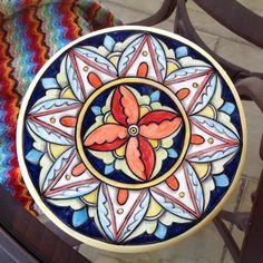 """Último da série """"descanso de travessa""""  Para informações sobre valores mandem direct! #ceramic #ce - ceramica.by.lilianacastilho"""