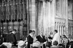 a wedding at Peterborough Cathedral