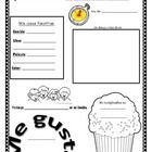 This is a pdf of a Spanish ´Todo Sobre Yo´ Spotlight or All About Me poster. Students are able to fill in information about their favorite things, ...