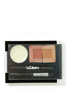 Another pinner said: NYX Eyebrow Cake Powder ., this stuff is just as good as the Benefit brand, but 13 the price.