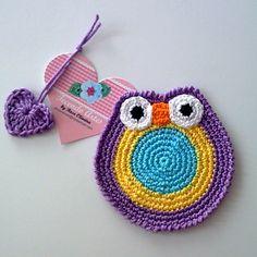 Tecendo Artes em Crochet: Porta-copos (Coasters)