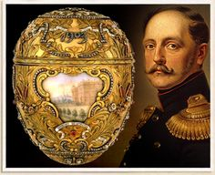 the St Petersburg Egg of Tsar Nicholas II, about 8 eggs were lost between 1917-1929