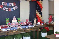 Festa com Gosto: Uma festa de ursinho diferente :)