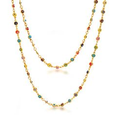 Checkout 4 Your Eyes Necklace at BlingJewelry.com