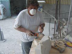 Italie - Carrara - art - sculptures - philip moerman - www.moermansculptures.be
