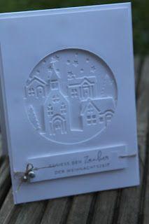 Winterkarte Weihnachten daheim | Stempelgarten | Bloglovin'