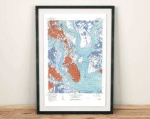 ParMedia/Etsy ... asked about a custom Lake Houston map as well!
