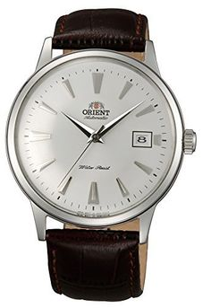 c2eaf384c62 Orient Bambino Automatic Dress Watch with White Dial